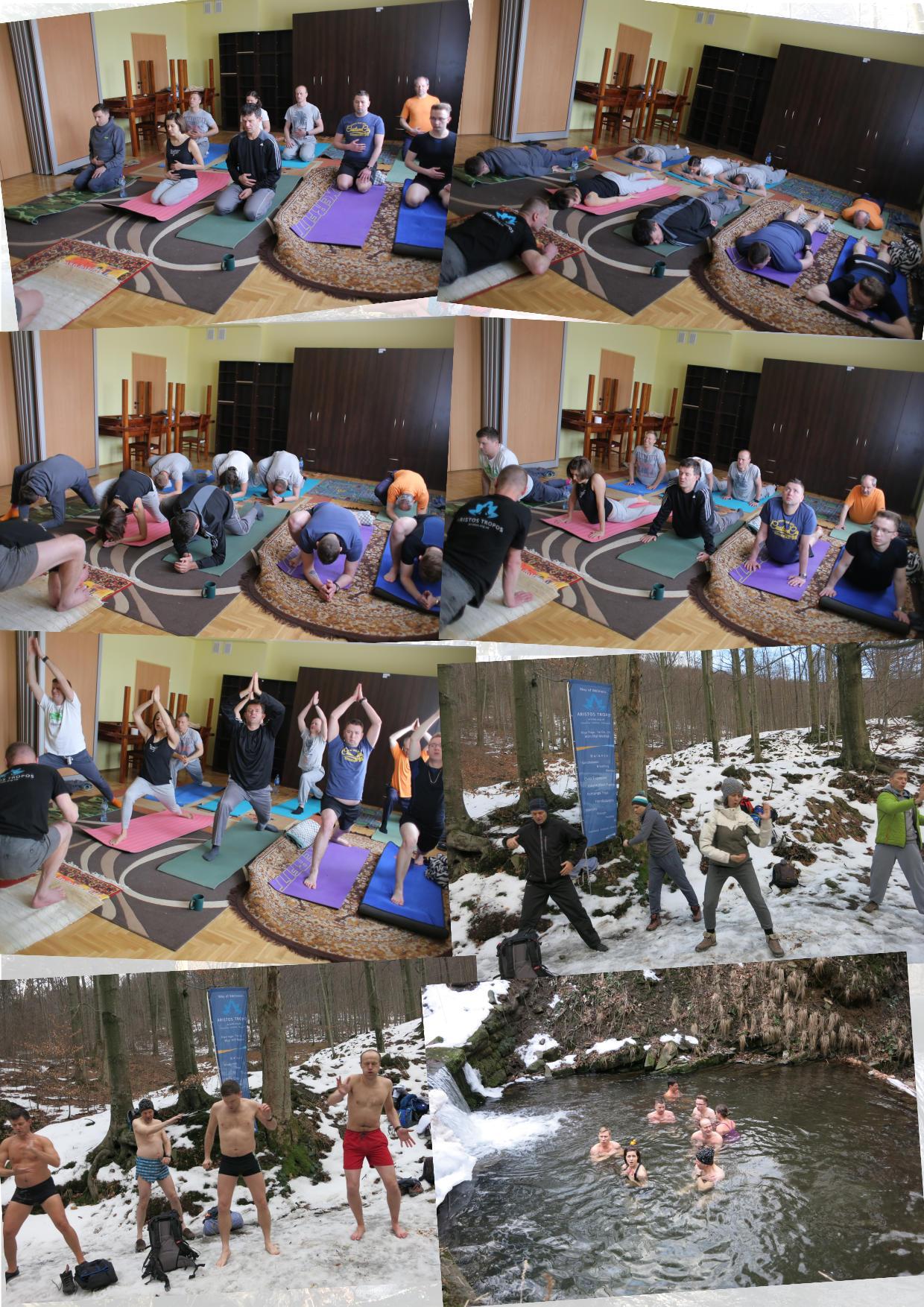 Kolaż zdjęć z naszych warsztatów WHM w Bielsku-Białej